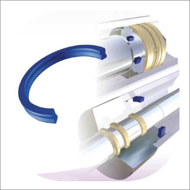 Polipack para cilindros hidraulicos